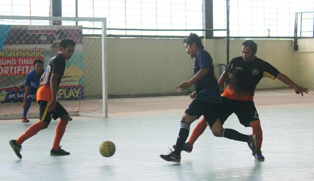 Berhasil Redam Agresivitas Journalist FC , KPLP Melaju Babak 8 Besar