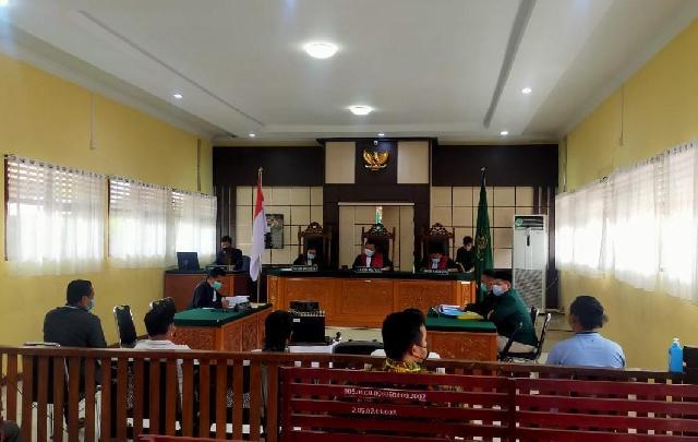 Deklarasi Dukungan di Pilkada Inhu, Kades Talang Jerinjing di Tuntut Lima Bulan Penjara