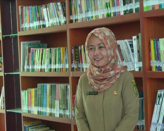 Cerdaskan Masyarakat Rohil Lewat Perpustakaan di Desa