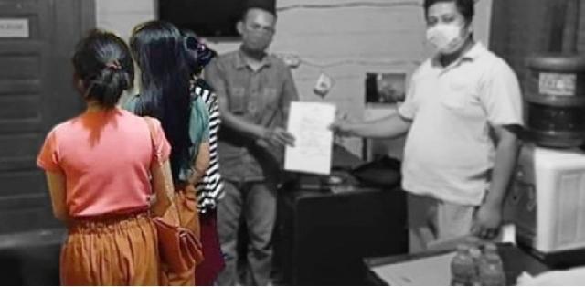 Cerita 3 Remaja Putri Iseng Live Mesum di IG Berakhir di Kantor Polisi