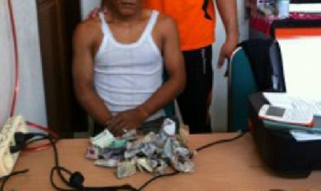 Pemuda Ukui, Di Ringkus Polisi Polsek Pangkalan Lesung