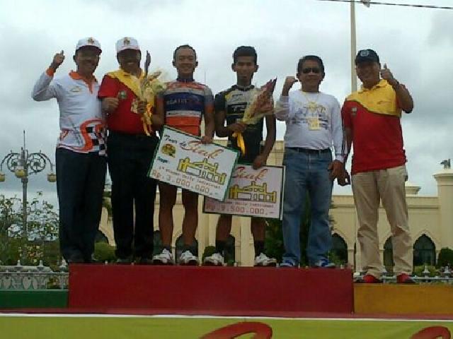 Hebat... Etape III Tour de Siak, Pebalap Indonesia Raih Posisi Tiga
