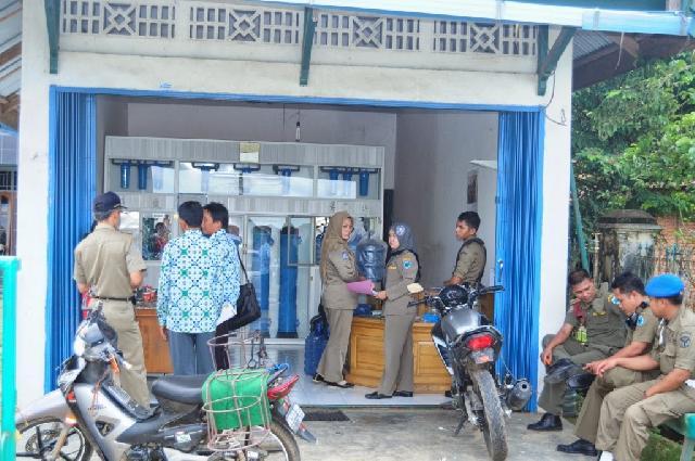 Hati-hati, Depot Air Minum di Bengkalis ada Tak Kantongi Izin