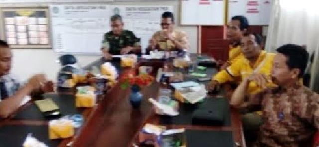 Koramil 12 Pwk Sabak Auh Melaksanakan Sosialisasi Pencegahan Karlahut Bersama Pemerintah Kecamatan