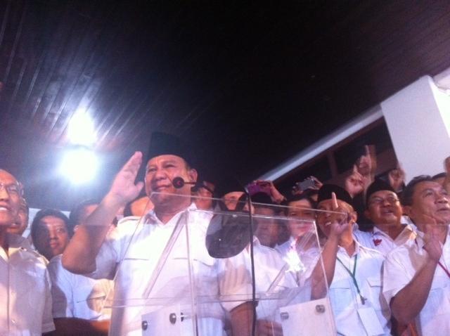 22 Juli, Prabowo Larang Ada Tindakan Kekerasa