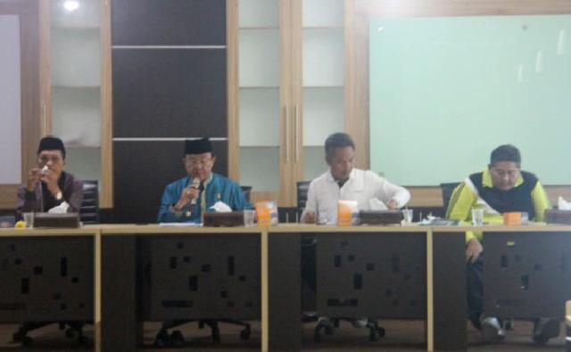 Bupati Inhil Pimpin Rapat Persiapan MTQ Tingkat Kabupaten Ke-46