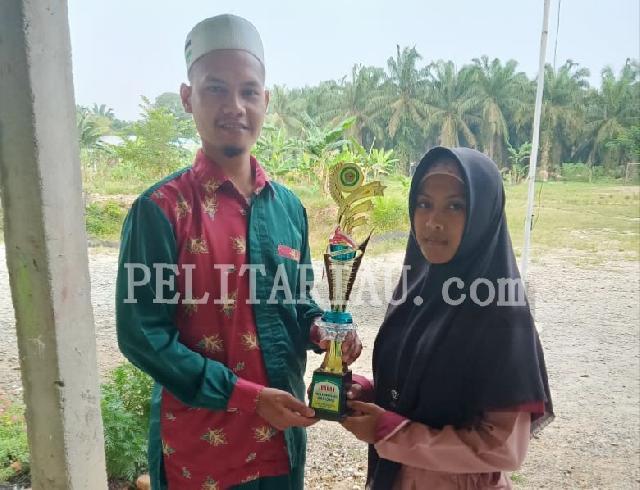 Pospenas Tingkat Kabupaten Rohul, Ponpes Daarul Quran Darussalam Sabet Juara Umum