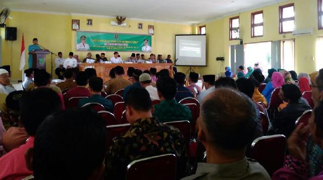 Ketua Bapedda Pimpin Musrenbang TA 2019 Di Kecamatan Sungai Lala