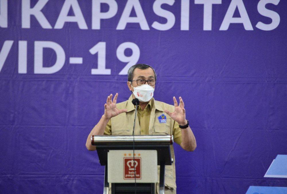 Gubernur Riau minta BUMD Kerja Keras Tingkatkan Kinerja