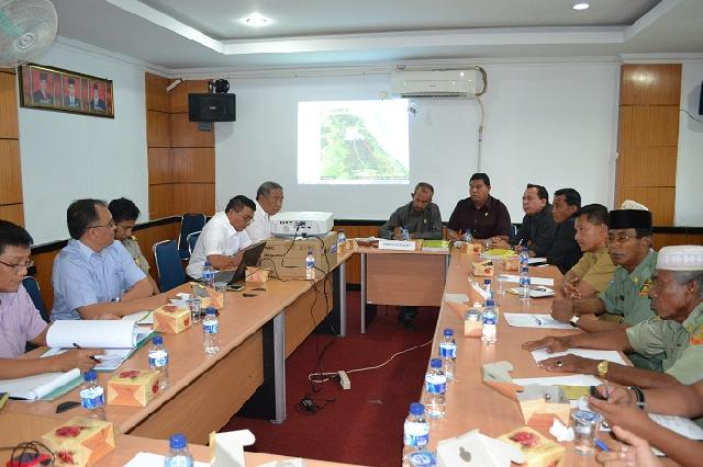 Komisi A Lakukan Hering dengan SKPD Rohil dan PTPN IV