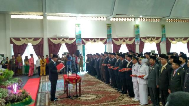 Ini Daftar Nama Pejabat Eselon II dan III yang baru Dilantik Bupati Suyatno