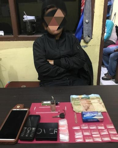 Simpan Shabu, Wanita 29 Tahun di Meranti Ini Digrebek Polisi