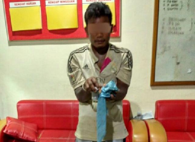 Sat Reskrim Polres Inhu 'Cokok' Pelaku Penambangan Mineral Logam Emas Ilegal