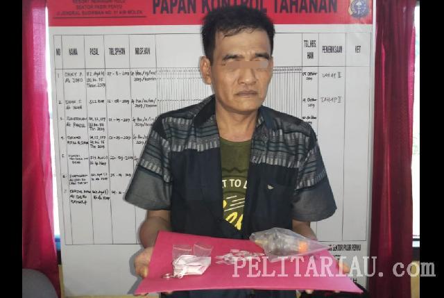 Pembeli Sabu-Sabu Silih Berganti Datangi Rumah di Sentongan Inhu, Bagaimana Sikap Polisi