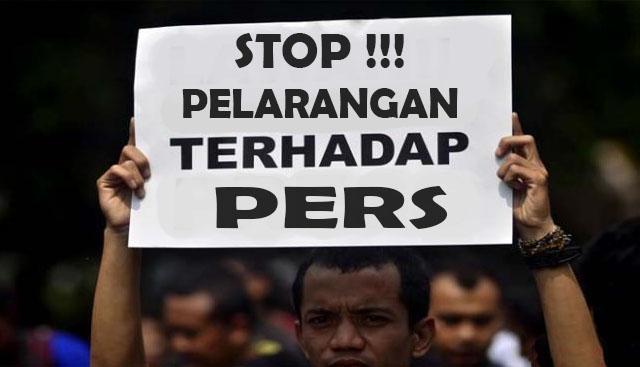 Ada Apa Wartawan dihalang Security Liput Progres SMP Madani Pekanbaru?