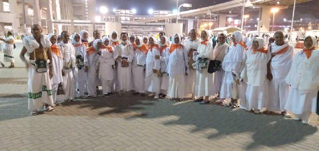 Alhamdulillah seluruh Jema'ah Calon Haji Meranti sukses Lontar Jumrah Aqobah 10 Zulhijah