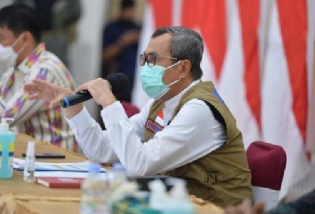 Berikut Penjelasan Gubri Terkait 688 Kasus Positif Covid-19 di Riau