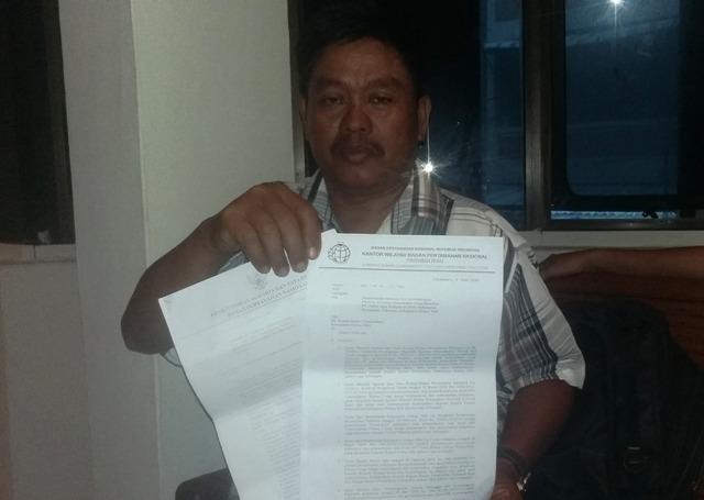 Diduga BPN Rohil Kongkalikong Dengan PT Jatim Perkasa