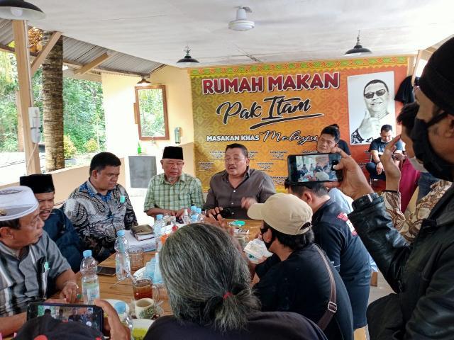 Tim Paslon HT Konfrensi Pers : Optimis Raih Kemenangan Pilkada 09 Desember 2020