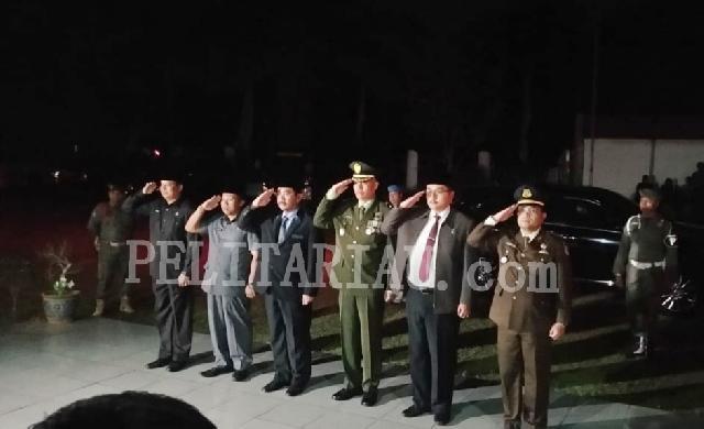 HUT RI ke 74 di Inhu, Ini Rangkaian Apel Penghormatan Pahlawan dan Renungan Suci