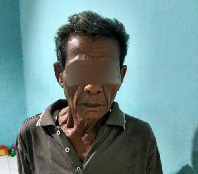 Kakek 66 Tahun Ini Ditangkap Polisi Karena Bakar-Bakar Dilahan