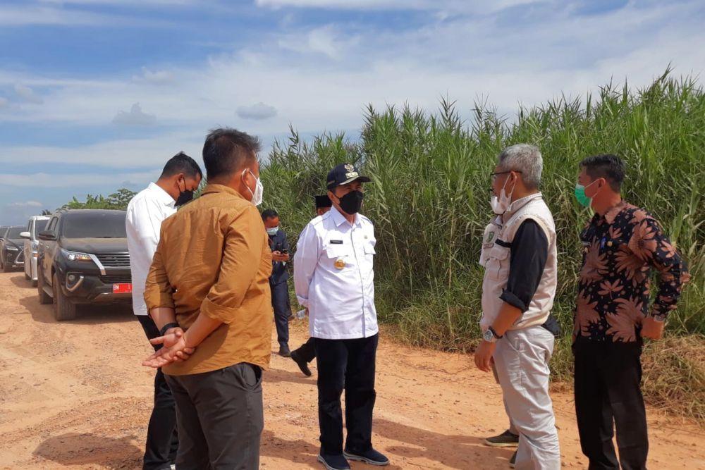 Gubri Cek Pembangunan Jalan Bagansiapiapi - Kubu