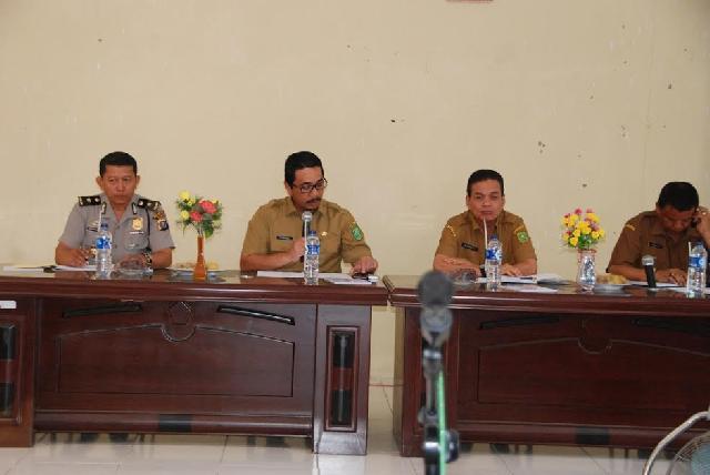 Pelaksanaan PEDA di Inhu Harus Memberikan Nilai Tambah