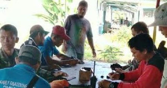Babinsa Koramil 06 Sungai Apit Sosialisasikan Karhutla