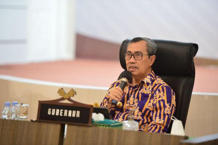 Gubri Paparkan Upaya Pengendalian Covid-19 di Riau