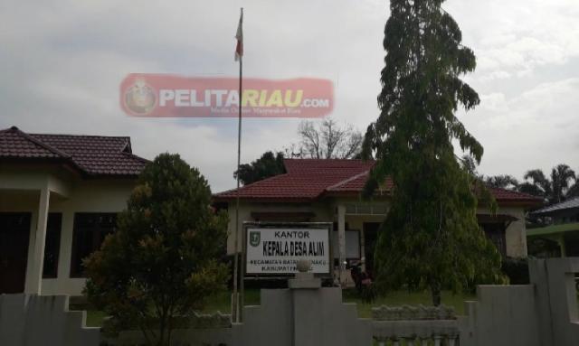 ADD 2018 Rp1 milyar Lebih Dilaporkan, Kades Alim Sudah Diperiksa Jaksa Inhu dan Inspektorat