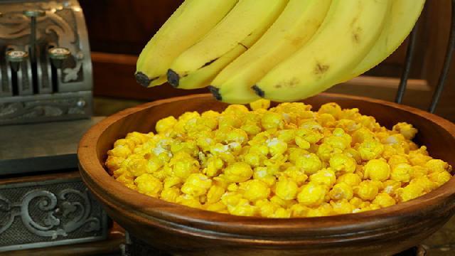 Berikut Resep Membuat Banana Popcorn