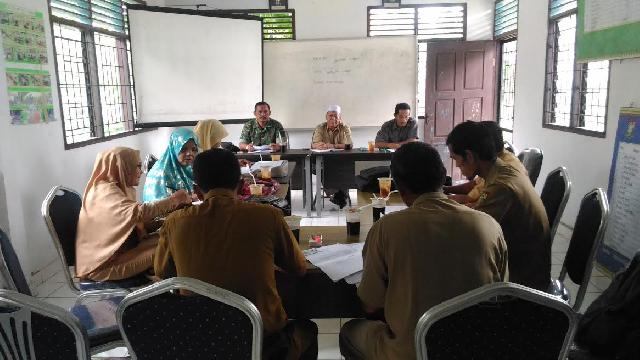 Babinsa Koramil 07/Kampar Gelar Rapat Dengan Dinas Pertanian