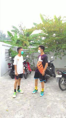 Kota Paking dan Bengkalis Berasap Tebal, Masyarakat Terpaksa Gunakan Masker