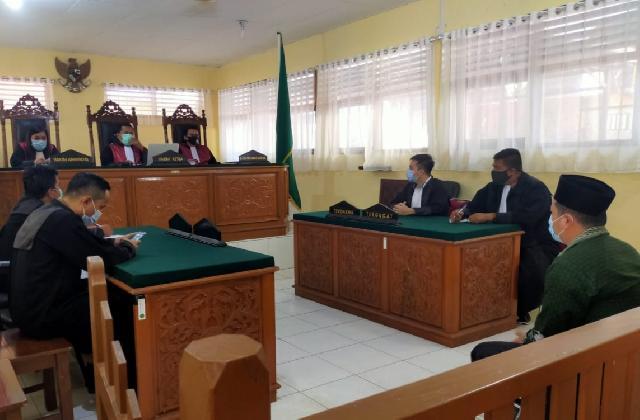 Kades Talang Jerinjing Divonis Empat Bulan Penjara, Deklarasi Dukungan Paslon Bupati Inhu