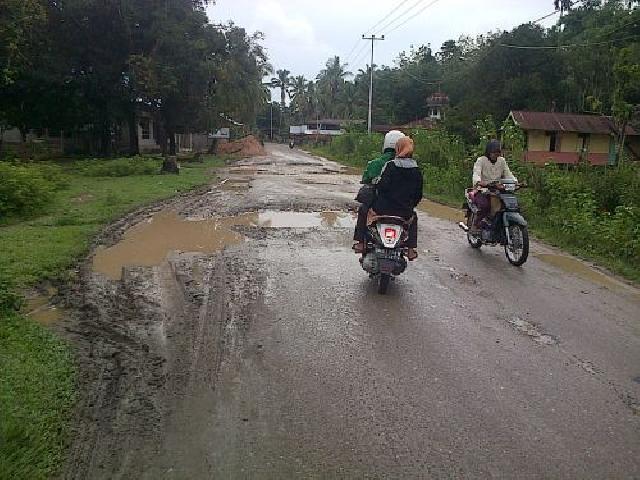Dinilai Ingkar Janji, Saat Melintas Masyarakat Stop Mobil CPO PT CRS di Pangean