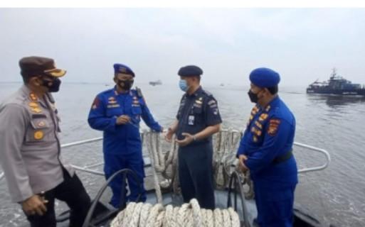 Patroli Bersama Bea Cukai dan KSOP Dumai, Ditpolairud Polda Riau Berharap Tekan Tindak Pidana di Perairan