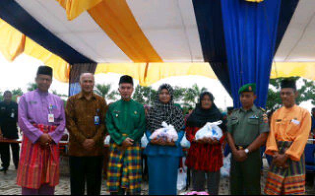 PT Taspen dan Pemkab Meranti Gelar Pasar Murah Ramadhan