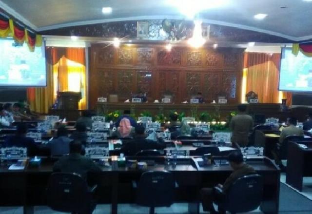 DPRD Kuansing Gelar Paripuran Penyampaian Hasil Reses Pimpinan dan Anggota Tahun 2018
