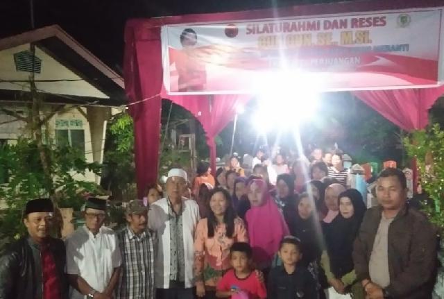 Reses DPRD Meranti, Cun Cun Serap Aspirasi Warga dan Bahas DBD