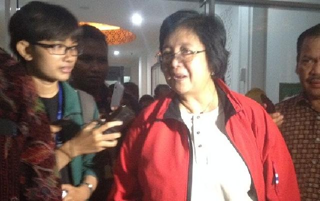 Menteri LHK Tinjau Karhutla Riau
