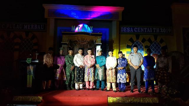 Wakil Bupati Kepulauan Meranti Hadiri Pembukaan MTQ Ke-IX Kecamatan Pulau Merbau