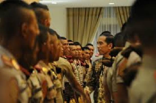 Ini Isi Pesan Presiden kepada 720 CAPAJA TNI dan Polri