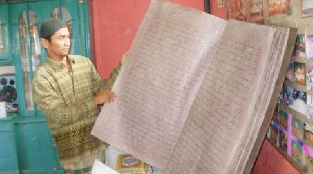 Pelalawan Expo Menampilkan Quran Berusia 500 Tahun