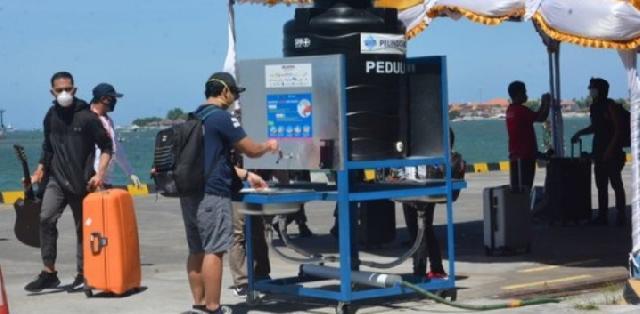 Tiba di Bali, 159 TKI Penumpang Kapal Pesiar Jalani Tes Covid-19