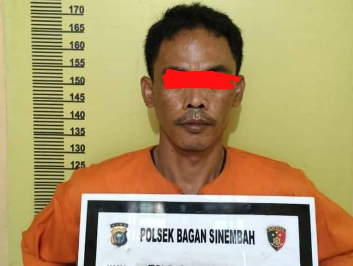 Polsek Bagan Sinembah Polres Rohil Tangkap Pelaku