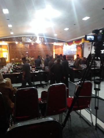 Sidang Paripurna DPRD Kuansing Penyampaian Nota Perubahan APBD P Kabupaten Kuansing Tahun 2018