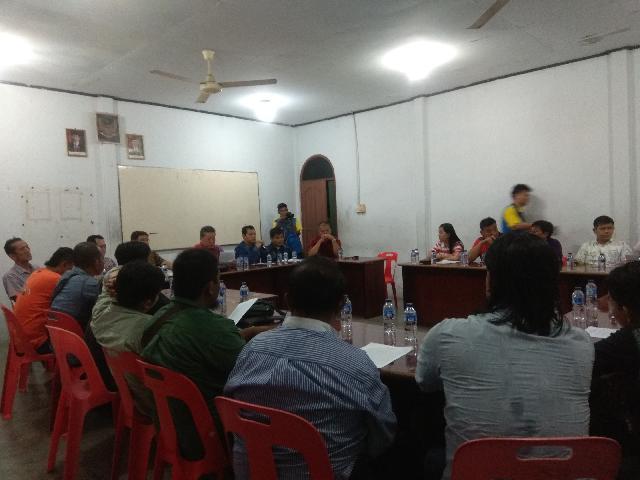 Yayasan Sosial Umat Beragama Budha (YSUBB) Selatpanjang Lapor Jusdi Ke Polisi