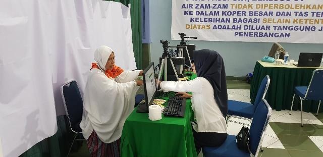 Jema'ah Calon Haji Meranti Diminta Selalu Gunakan Gelang Identitas