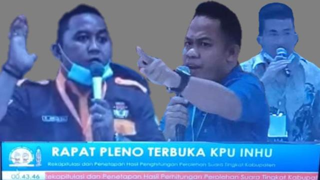 Keinginan Saksi Ditolak, Diduga KPU Inhu Sudah Kong Kalikong di Pilkada 9 Desember 2020
