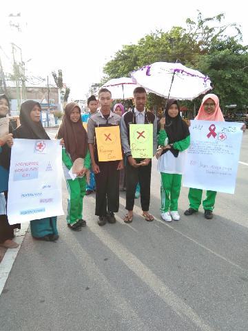 Hari HIV/AIDS Sedunia,Palang Merah Remaja Tingkat Wira Gelar Berbagai Kegiatan